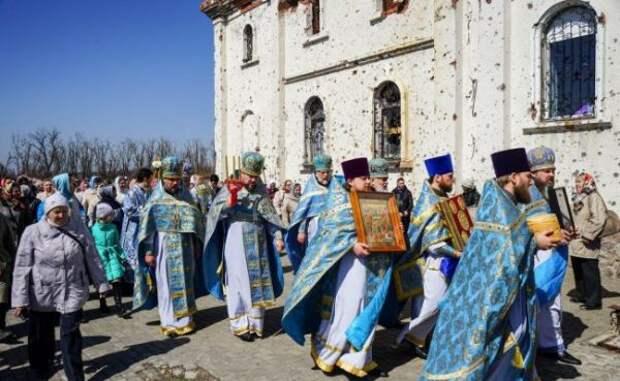 Иверский монастырь врайоне донецкого аэропорта оказался под обстрелом ВСУ