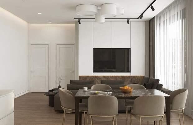 Телевизор в небольшой гостиной: куда его? Показываем небанальные варианты