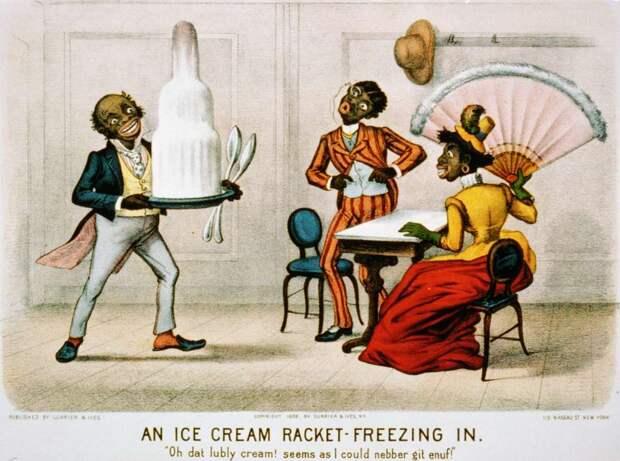 Торт-мороженое - заморозка