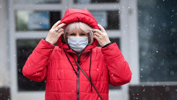 Снег с дождем прошли в Москве впервые за эту осень
