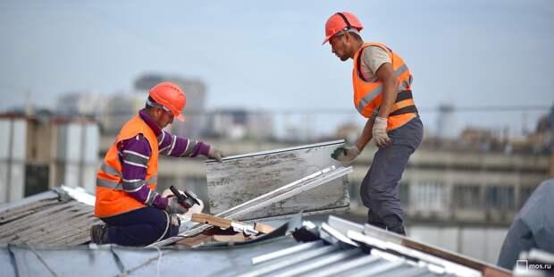 В двенадцати домах Бабушкинского района отремонтируют крыши