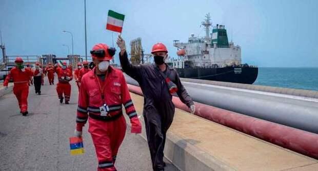 Иранские нефтетанкеры подошли кпортам Сирии иВенесуэлы