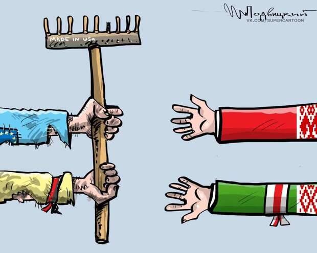 Лукашенко: США устроили Беломайдан, но мы всё равно хотим многовекторности