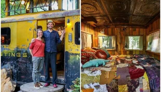 Как превратить винтажный вагон поезда в стильное и комфортабельное жилье