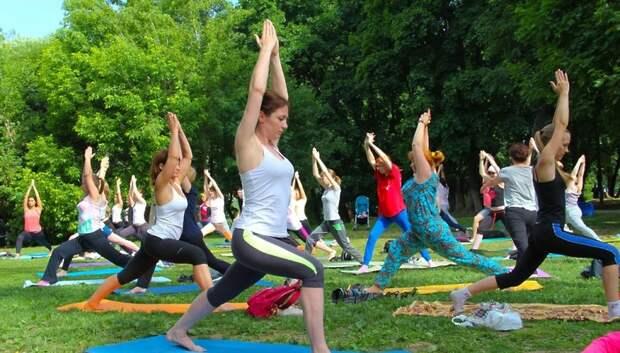В парке Талалихина Подольска по понедельникам будут проходить занятия цигун