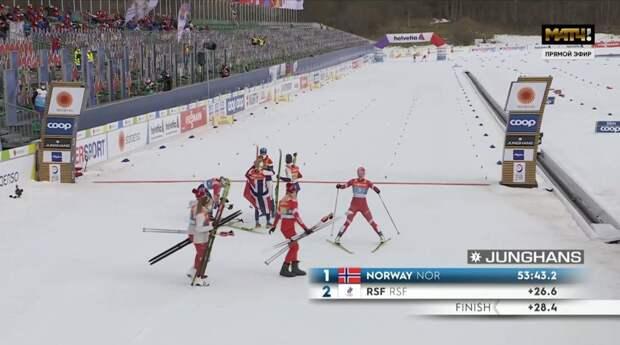 Пятое поражение «Ливерпуля» дома подряд, серебро в женской лыжной эстафете на ЧМ, Косторная возвращается к Тутберидзе, болид «Хааса» в цветах российского флага и другие новости утра