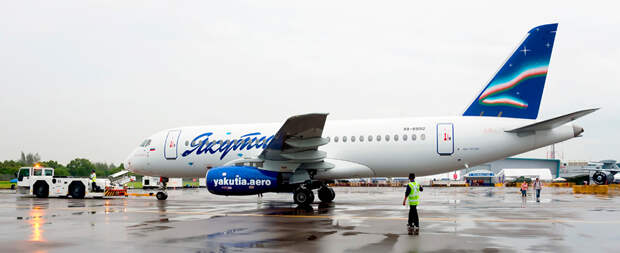 Гендиректор авиакомпании Якутия заявил об убыточности самолетов SSJ-100