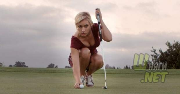 Слишком красивую гольфистку Пейдж Спиранак заставили соблюдать дресс-код