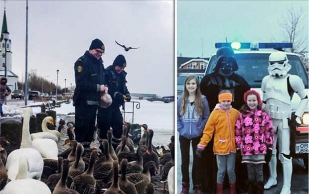15+ фото, доказывающих, что в Рейкьявике работают самые милые полицейские