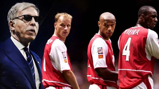 Фанаты «Арсенала» протестуют против американского владельца. Клуб могут продать основателю Spotify — ему помогают Анри, Виейра и Бергкамп
