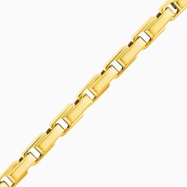 Цепь Maxioro, желтое золото