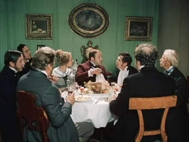 Кадр из фильма «Мёртвые души» 1984 года.
