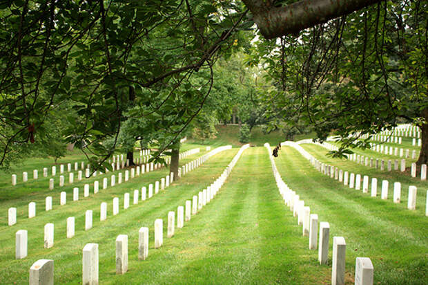 красивое кладбище Вирджинии