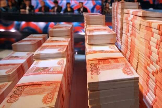 Из Петербурга в Севастополь были привезены миллиарды