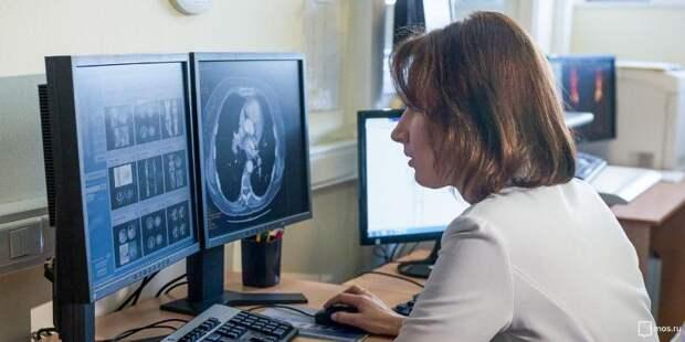 Анастасия Ракова: Москва внедряет цифровое зрение в здравоохранении. Фото: mos.ru
