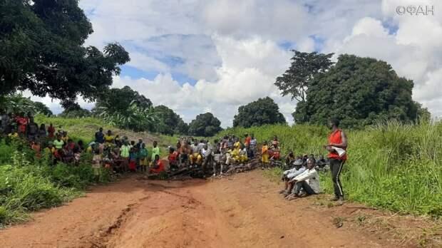 Центральноафриканцы вышли на демонстрацию против безнаказанности миротворцев ООН в Боссембеле