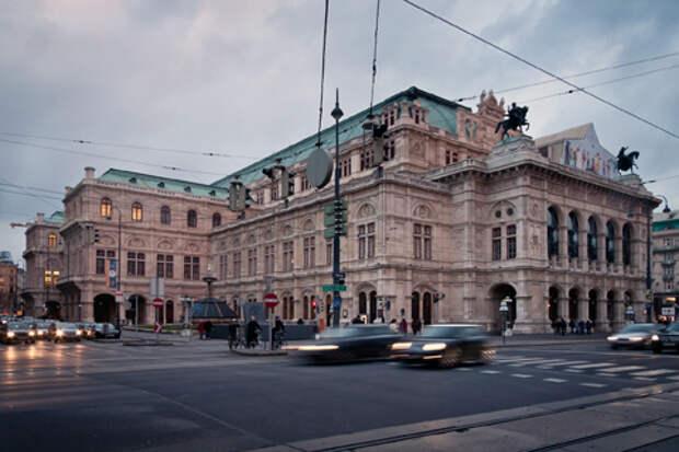 Венская опера - одна из красивейших в мире