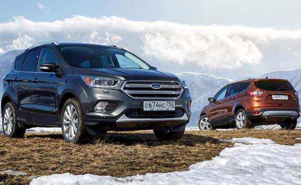 Ford Kuga, Focus и Mondeo получили в России новую версию