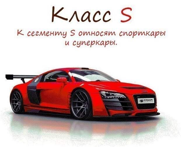 Классификация автомобилей 8
