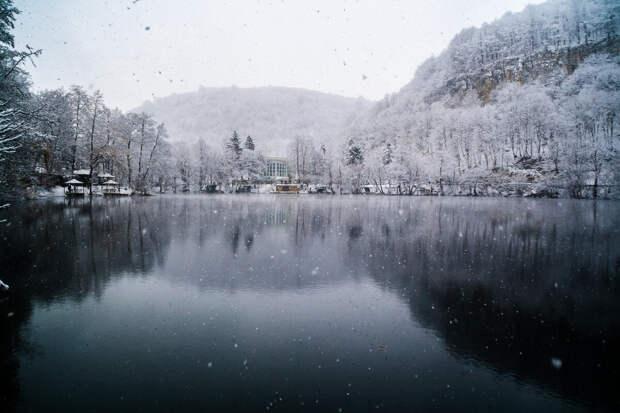 Озеро у которого нет дна