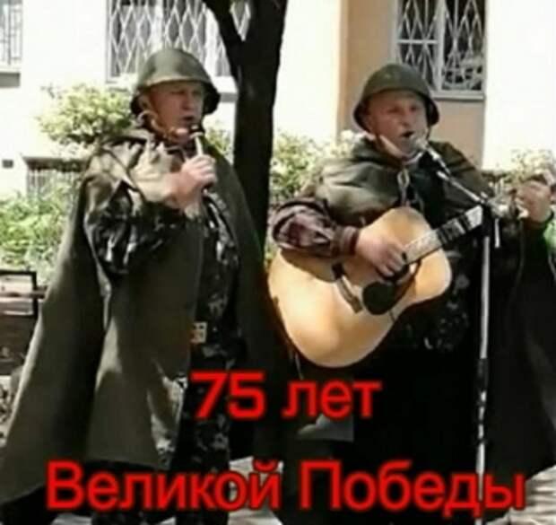 75 лет Великой Победы: привал на улице Героев обороны Одессы (см. ВИДЕО)