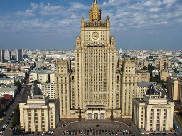 МИД России вызвал посла США после введения новых санкций