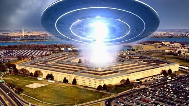 Пентагон переключится с России на НЛО