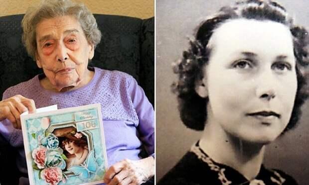 106-летняя долгожительница считает причиной своего долголетия отсутствие мужчин Южный Йоркшир, без мужчин проще, великобритания, долгая жизнь, долгожительница, рецепт ее молодости, старая дева, удивительные люди