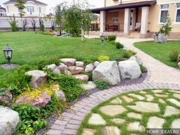 Ландшафтный дизайн дачного участка: входновляющие идеи