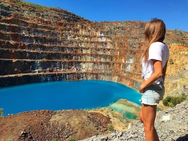 Заброшенный урановый рудник в Австралии — популярная Instagram-локация