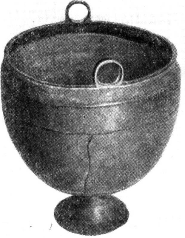 Клепаные бронзовые котлы. Эпоха поздней бронзы степей Восточной Европы.