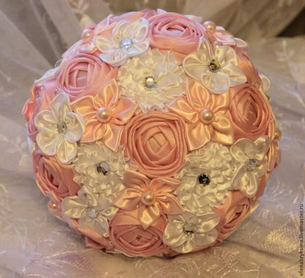 Создаем розу для брошь-букета