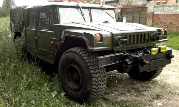 Псевдо-Хаммер на шасси ГАЗ-66 выставили на продажу за 750 тысяч рублей