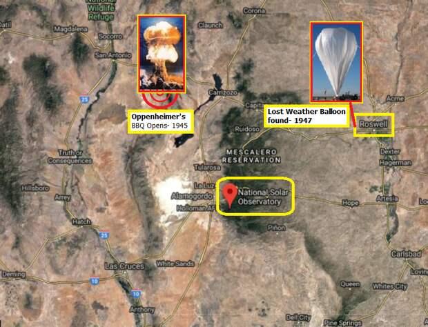 Обсерваторию Sunspot в штате Нью-Мексико закрыли из-за Нибиру?