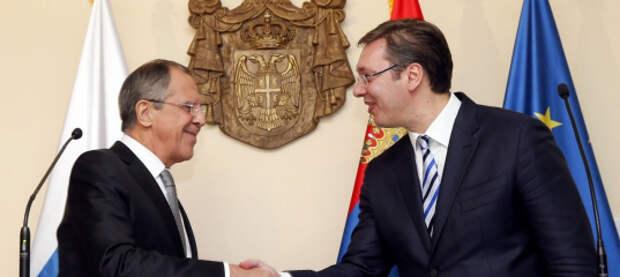Сербия отказалась вступать в НАТО и поддерживать санкции против России