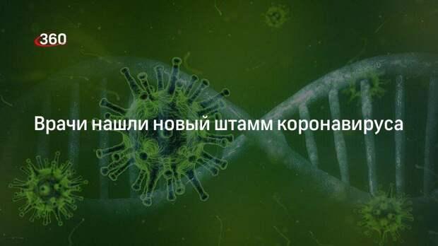 Врачи нашли новый штамм коронавируса