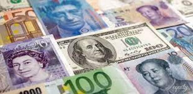 Официальные рыночные курсы валют на 17-19 апреля установил Нацбанк Казахстана