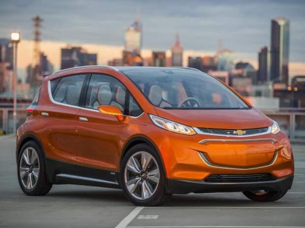 Новый Chevrolet Bolt дополнил Volt