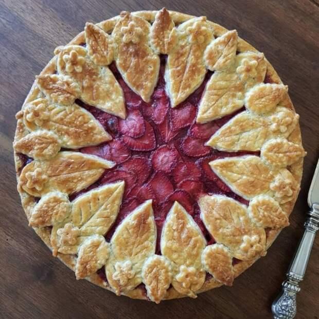 Как красиво оформить пирог 8