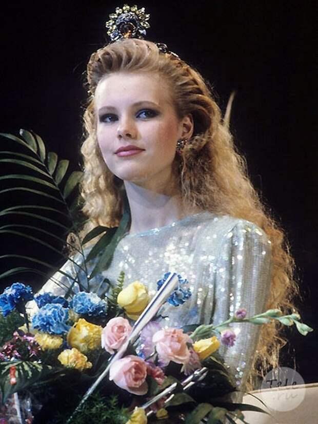 Маша Кежа конкурс 1990 мисс СССР.