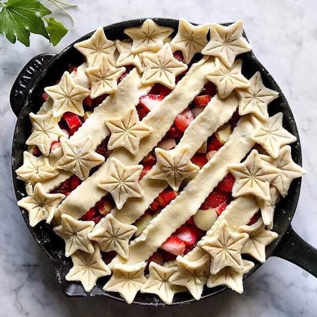 Как красиво оформить пирог 7