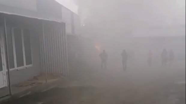 Рынок «Геркулес» загорелся впятницу вРостове