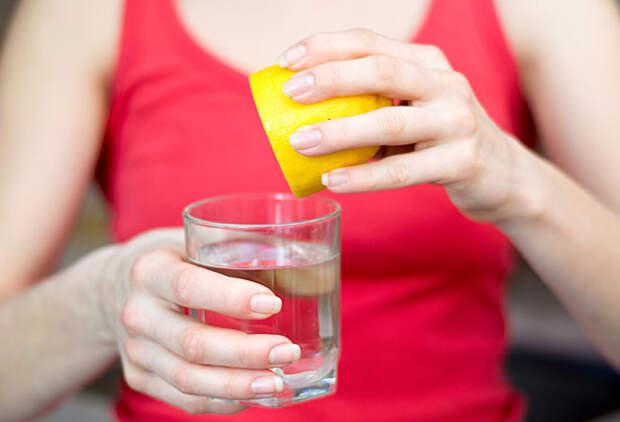 10 причин пить воду с лимоном