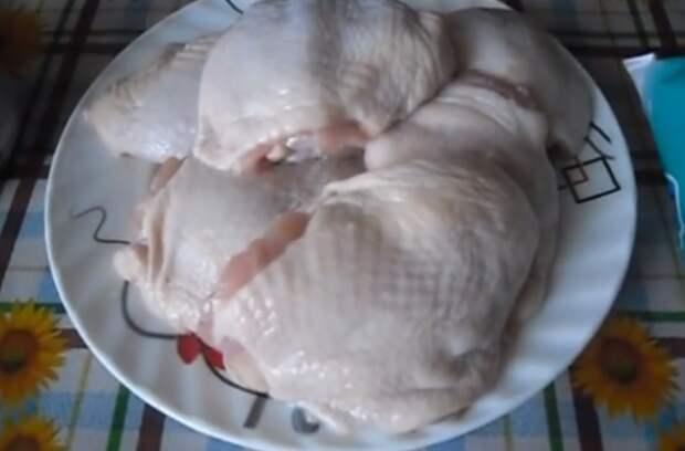 курица в кефире рецепт