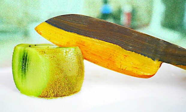 Нож из самого твердого в мире дерева: сравнение с металлом