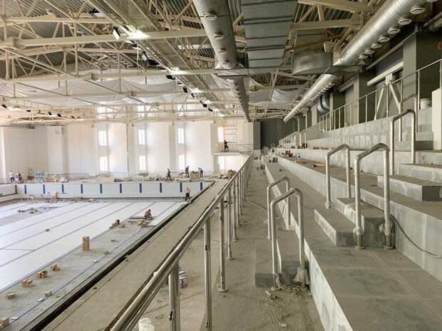 Новый 50-метровый бассейн в Ижевске сдадут в августе