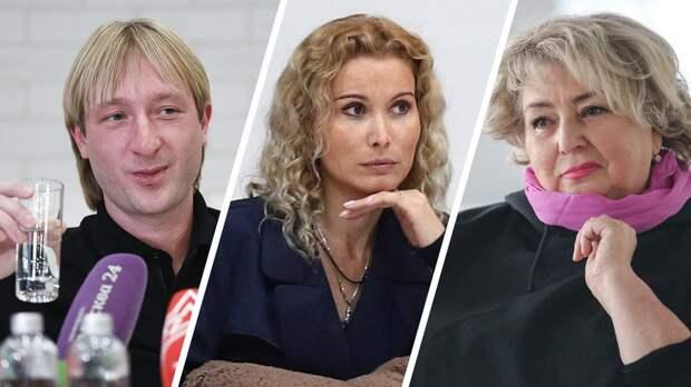 «Этери, нельзя извинить вашего хамства». Плющенко вступился заТарасову вконфликте сТутберидзе