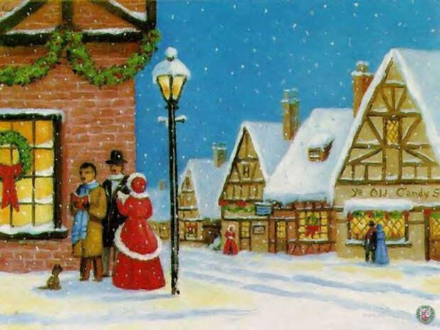 Предверие Рождества и Нового Года