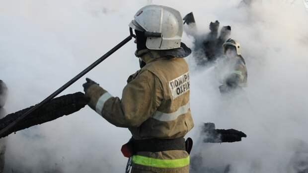 В Казахстане сгорел Петропавловский женский монастырь