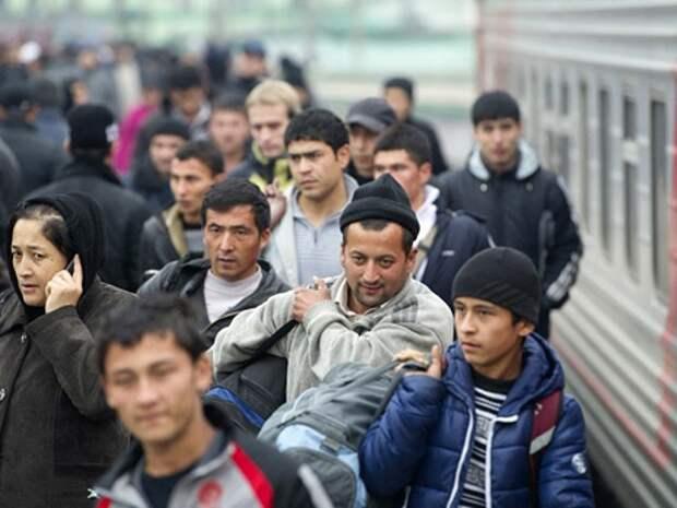 Прибытие поезда из Средней Азии в Москву. Фото: РИА Новости